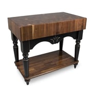 John Boos American Heritage Prep Table; Black by