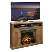 Legends Furniture Oak Creek TV Stand with Electric Fireplace