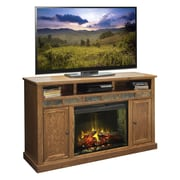 Legends Furniture Oak Creek TV Stand w/ Electric Fireplace