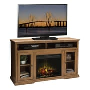 Legends Furniture Colonial Place TV Stand with Electric Fireplace