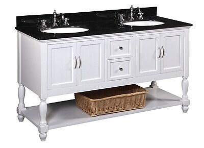 KBC Beverly 60'' Double Bathroom Vanity Set WYF078277444027