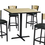 Premier Hospitality Furniture Pub Table; Gray Nebula