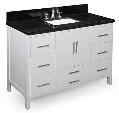 KBC California 48'' Single Bathroom Vanity Set WYF078277444877