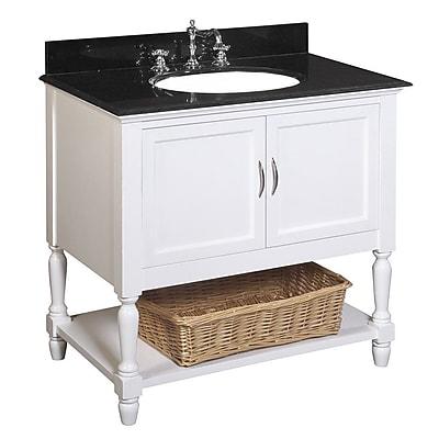 KBC Beverly 36'' Single Bathroom Vanity Set WYF078277444965