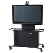 VFI Mobile Cart with Single XL Monitor Mount