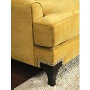 Hokku Designs Charlemagne Premium Arm Chair; Gold