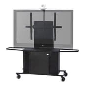 VFI Metal Mobile AV Cart with Single Monitor Mount; 75'' H x 53.63'' W x 23.75'' D