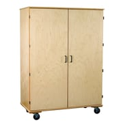 Bird in Hand Classroom Select Classroom Cabinet w/ Casters