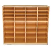 Childcraft Mobile 32 Mixed-Tray Storage Center