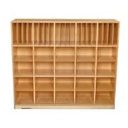 Childcraft Durable 40 Compartment Cubby w/ Casters