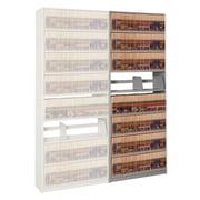 Datum Storage 4Post-In-A-Box 88.25'' H Nine Shelf Shelving Unit Add-on; Light Gray