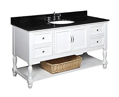 KBC Beverly 60'' Single Bathroom Vanity Set WYF078277445449