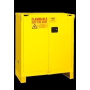 Durham Manufacturing 50'' H x 43'' W x 18'' D Flammable Safety Cabinet; Self-closing
