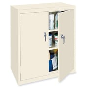 OfficeSource Deluxe 2 Door Storage Cabinet; Putty