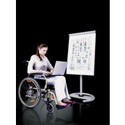 MiEN Multi-functional Mobile Whiteboard, 6' H x 2' W