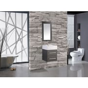 MTDVanities Nepal 18'' Single Sink Wall Mounted Bathroom Vanity Set with Mirror