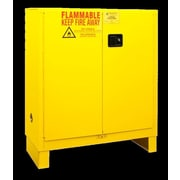 Durham Manufacturing 50'' H x 43'' W x 18'' D Flammable Safety Cabinet; Manual