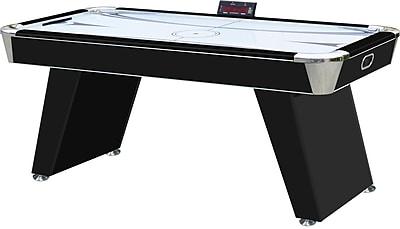 Playcraft Derby 6' Air Hockey Table; Black