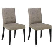 Armen Living Urbanity Wall Street Side Chair (Set of 2)