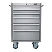 Viper Tool Storage 26'' Wide 6 Drawer Bottom Cabinet; Stainless Steel