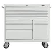 Viper Tool Storage 41'' Wide 9 Drawer Bottom Cabinet II; White
