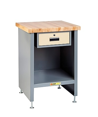 Little Giant USA Enclosed Butcher Block Top Workbench