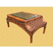 Spice Islands Mauna Loa Coffee Table; Brownwash