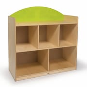 Whitney Bros. Rainbow Sturdy Storage Cabinet; Green