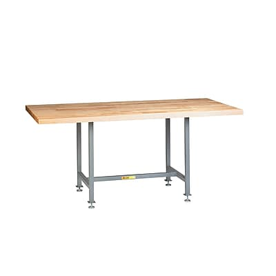 Little Giant USA 72'' x 36'' Butcher Block Top Workbench