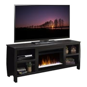Legends Furniture Curve TV Stand with Electric Fireplace