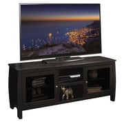 Legends Furniture The Curve TV Stand; Mocha