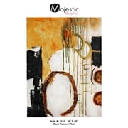 Majestic Mirror Mixed Media Back Painted Plexi Painting Print