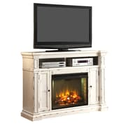 Legends Furniture New Castle TV Stand w/ Electric Fireplace