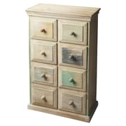 Butler Artifacts Keller Painted Wood  8 Drawer Chest