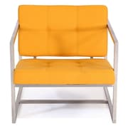 Kardiel Cube Modern 1950 Chair; Sunrise