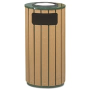 Premier Mounts 12-Gal Regent 50 Ash/Trash Receptacle