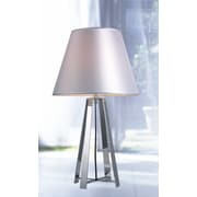 VIG Furniture Modrest Stainless Steel 24'' H Table Lamp