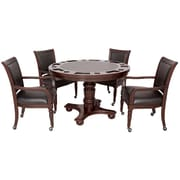 Hathaway Games Bridgeport 2-in-1 Poker Game Table Set