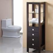 Virtu 16.3'' x 58.3'' Free Standing Cabinet; White