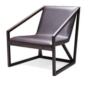 Bellini Modern Living Molly Arm Chair; Dark Grey