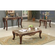 BestMasterFurniture 4 Piece Coffee Table Set