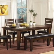 Woodhaven Hill Ameillia Dining Table; 30'' H x 42'' W x 66'' D