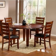 Woodhaven Hill Ameillia Dining Table; 30''H x 42'' W x 60'' D