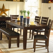 Woodhaven Hill Ameillia Dining Table; 30'' H x 42'' W x 64'' - 82'' D