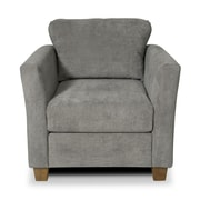 Gregson Classics Edward Arm Chair; Two Tone Charcoal