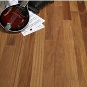 Albero Valley 3-1/4'' Solid Cumaru Hardwood Flooring in Teak