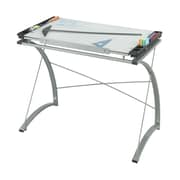 Safco Products Xpressions Glass Drafting Table