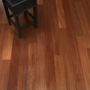 Albero Valley 5'' Solid Crabwood Hardwood Flooring in Mahogany