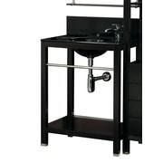 DecoLav 28'' Vanity Set w/ Countertop Lavatory Console