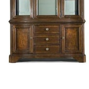 Legacy Classic Furniture American Traditions Buffet in Distressed Rich Cordovan Mahogany